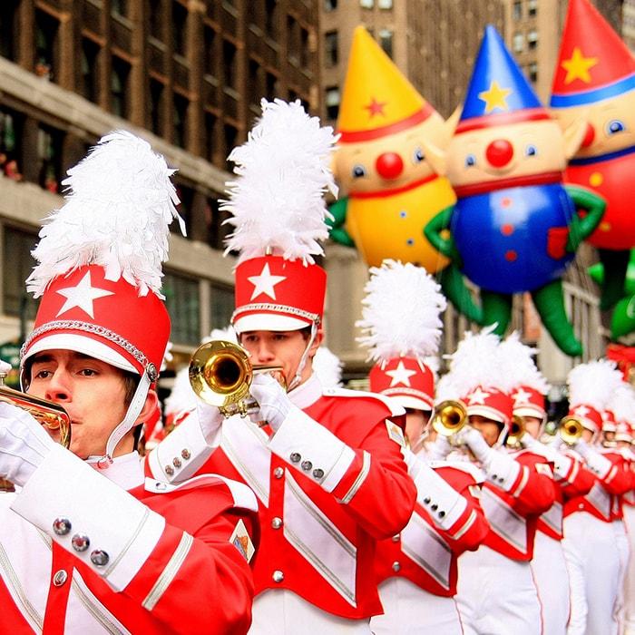 Macys Parade Performers