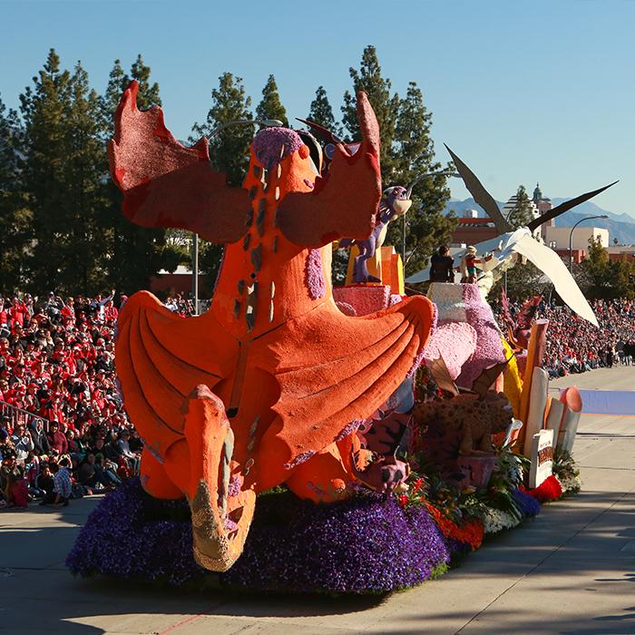 Rose Parade Float