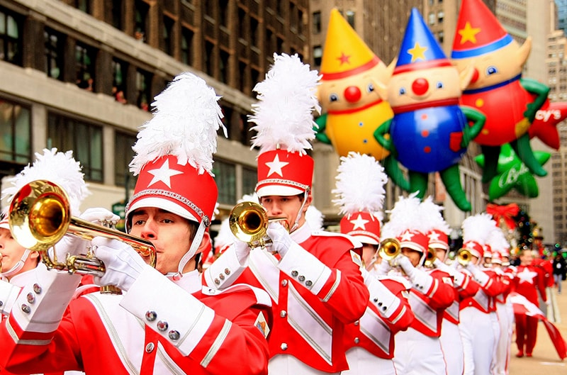 Macy's Thanksgiving Day Parade Performers
