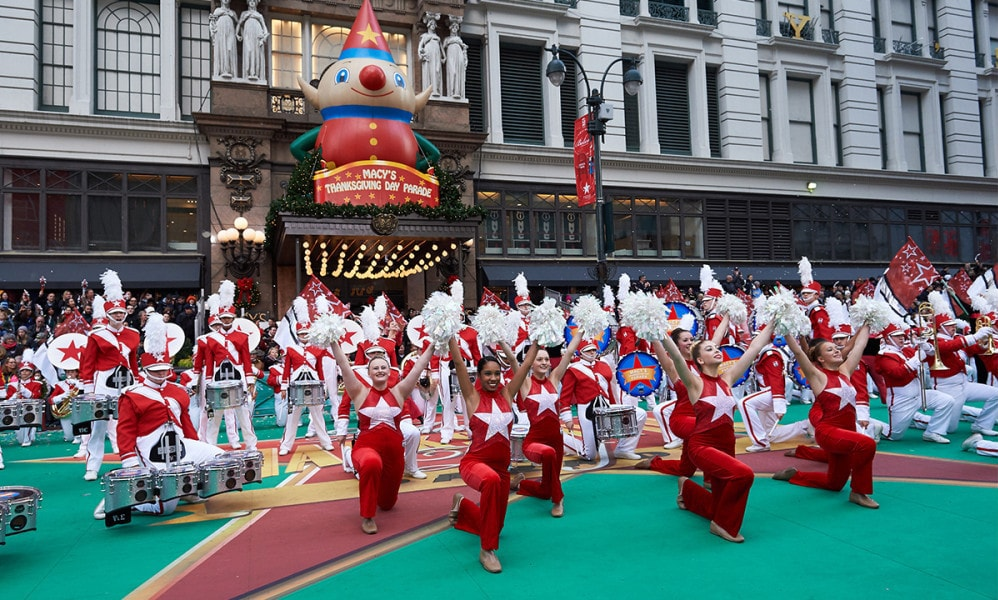 Macy's Thanksgiving Day Parade Experience