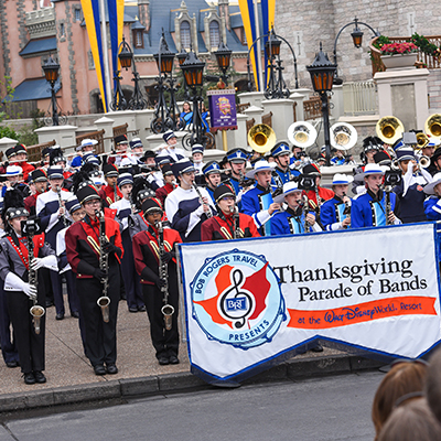 Parade of Bands Experience
