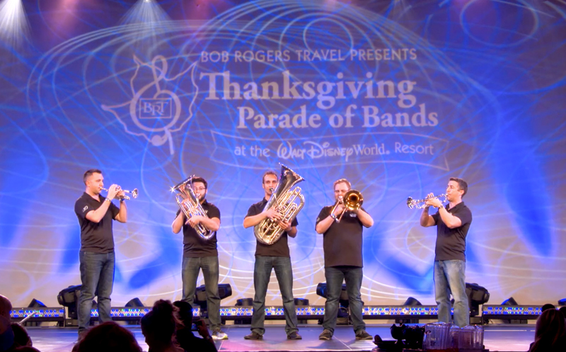 Thanksgiving Parade of Bands Clinicians